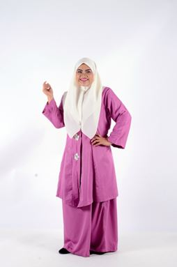 Kebaya Khadeejah - Dusty Purple
