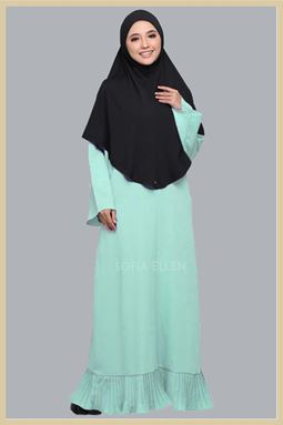 JUBAH TIFFANY MINT GREEN