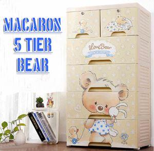 55CM 5Tier Bear Cabinet