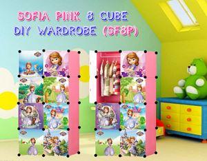 SOFIA PINK 8C DIY WARDROBE (SF8P)