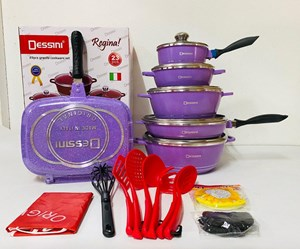 DESSINI 23PCS PURPLE