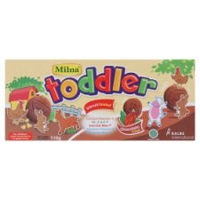 Milna Toddler Chocolate Biscuits for Children 1-5 Years 110g