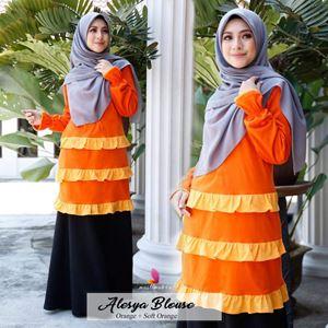 Alesya Blouse (Orange)