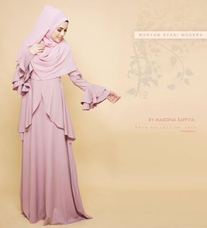 MARYAM SYARI (DUSTY PINK)
