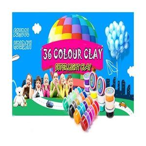 36 COLOUR CLAY N00729