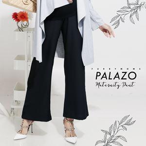 Maternity Palazo Pant - Black