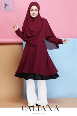BLOUSE CALIANA 3.0 ( Raisin )