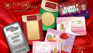 0.5gm Gold Wafer Card