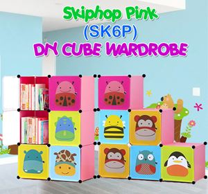 Skiphop PINK 6C DIY WARDROBE (SK6P)