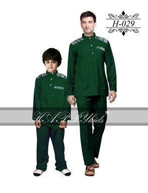 HAPPYkids 2017 Songket Exclusive MAN ( GREEN )