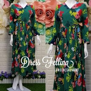 READY STOCK ! Dress Fellina