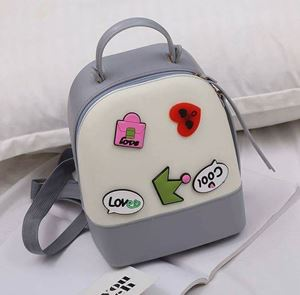 Jelly Backpack - Grey Cream