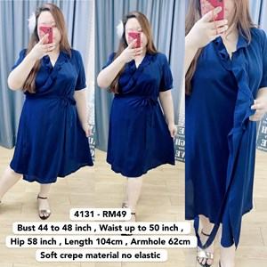 4131 * Ready Stock * Bust 44 to 48inch /112 - 121cm