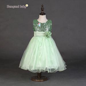 #L26 GREEN DINNER DRESS