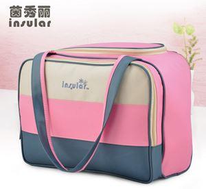 Original Insular Diaper bag - Pink Blue