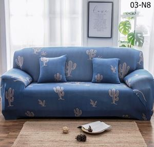 Sofa Cover (SINGLE + DOUBLE + TRIPLE) N8