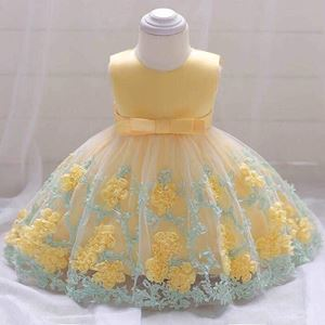 GOWN BABY YELLOW