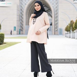 Maryam Blouse - Peach