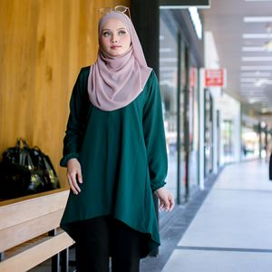 BLOUSE FELISHA - EMERALD GREEN