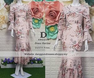 Dress Karina Dusty Pink