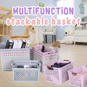 MULTIFUNCTION STACKABLE BASKET