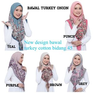 BAWAL TURKEY COTTON ONION