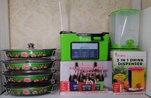 COMBO EDORA DK 6PCS - GREEN