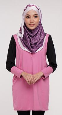 Qissara Essential Series 2 - ES207 Pink Bandung