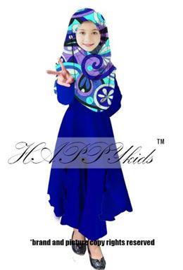 Palazo Set & Pucci For Kids - Blue