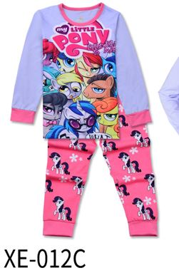 XE-012C 'My Little Pony' KIDS PYJAMAS (2T-7T)