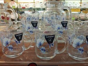 7PCS ALTESE BLUE TEA SET