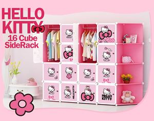 Hello Kitty 16C DIY Cube w Corner Rack (KT16CR)