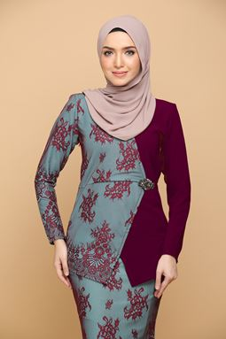 DEWI MULBERRY / TURQUOISE (ADULT)