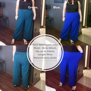 9507 Ready Stock *Waist 46 to 60 inch/ 116-152cm
