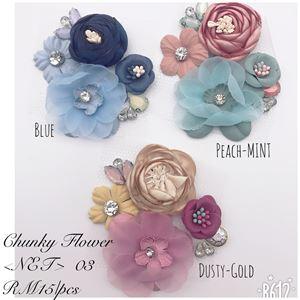 CHUNKY FLOWER NET 03