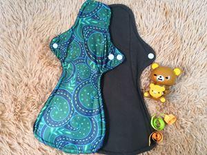 Cloth Pad - Batik (Calming) Size XL