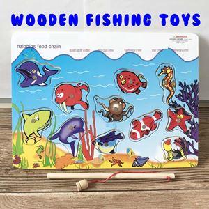 WOODEN FISHING BOARD