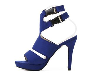 Shoe 2769 Black | Blue