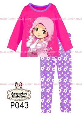 Ana Muslim Pyjama - Ana Solehah (2pcs set)
