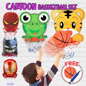 CARTOON BASKETBALL NET