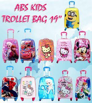 ABS Kids TrolleyBag - 19