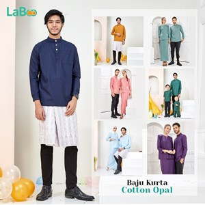 LaBoo Kurta Dewasa Cotton Opal
