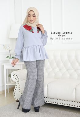 Blouse Sephia Grey