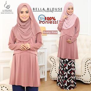Bella Blouse : Dusty Pink