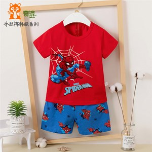 RED SPIDERMAN  SLEEPWEAR  ( SIZE  55-60-65-70-75-80-85-90-95cm )
