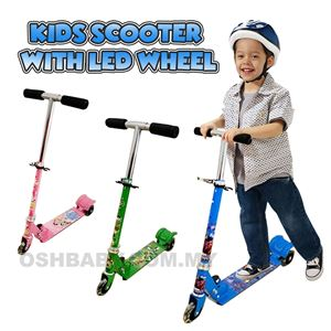 KIDS SCOOTER WITH LED WHEEL