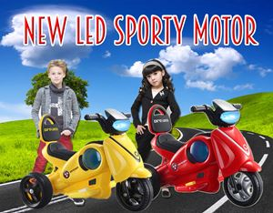 NEW LED SPORTY MOTOR