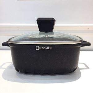 (DARK PURPLE) 32CM CASSEROLE DESSINI