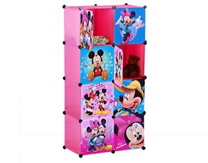 MICKEYMINNIE PINK 8C DIY WARDROBE (MC8P)