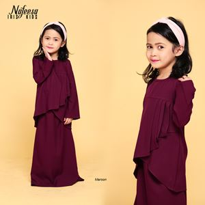 NAFEESA IRIS KIDS MAROON